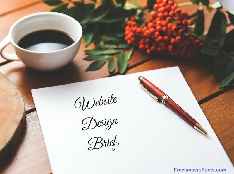 Web Design Brief questionnaire - Freelancers Tools 02