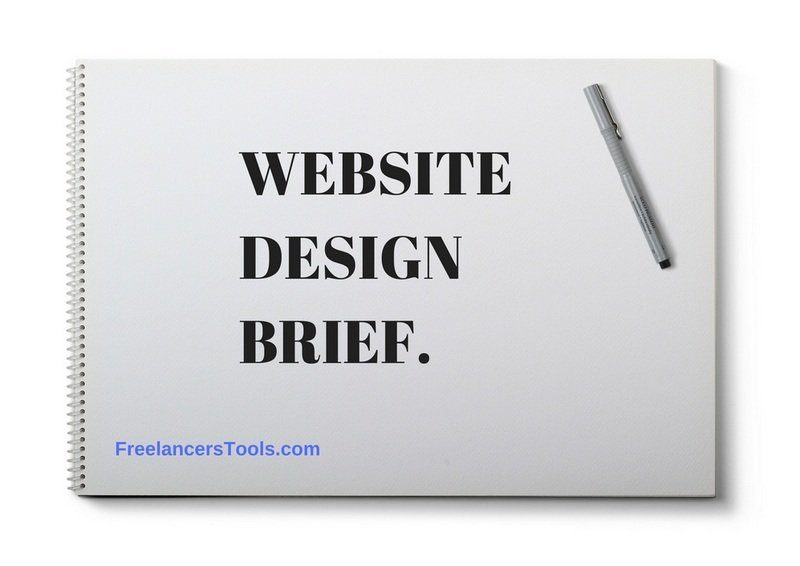 Web Design Brief questionnaire - Freelancers Tools 01